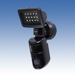 センサーライト付きカメラ